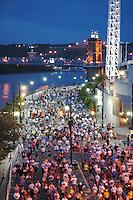 Flying Pig Marathon Runners Downtown
