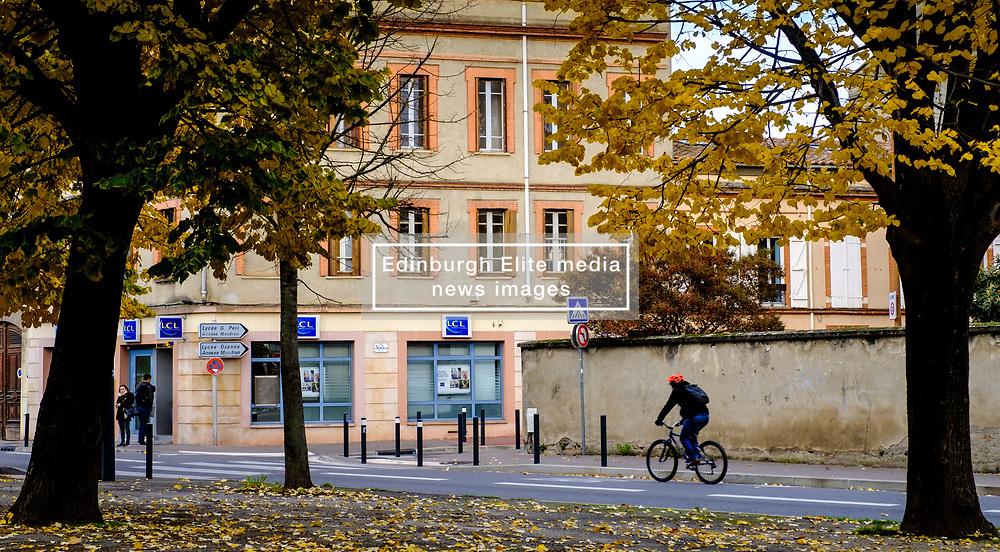 Street scene in Toulouse, FRance<br /> <br /> (c) Andrew Wilson | Edinburgh Elite media