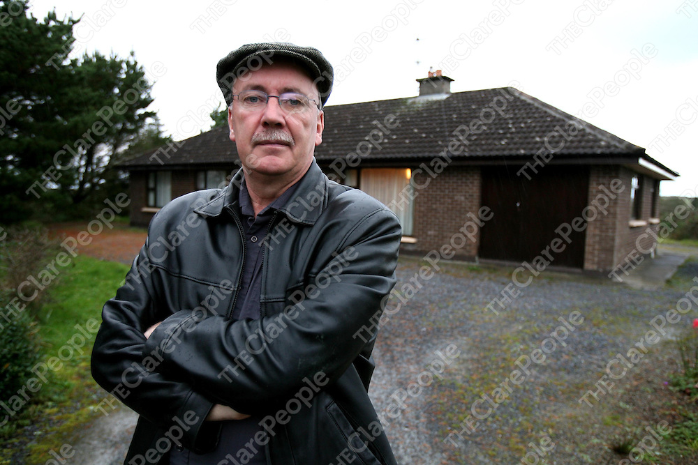 Tim Dennehy at home in Milltown.<br /><br />Photograph by Eamon Ward