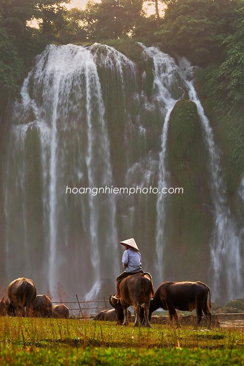 Vietnam Images-Nature-Landscape-Waterfall phong cảnh việt nam hoàng thế nhiệm