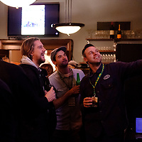 Cougar Basketball Alumni during the CAB event on November 2 at Crave, Regina. Credit Matte Black Photos/©Arthur Images 2018