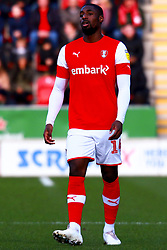 Hakeeb Adelakun of Rotherham United - Mandatory by-line: Ryan Crockett/JMP - 18/01/2020 - FOOTBALL - Aesseal New York Stadium - Rotherham, England - Rotherham United v Bristol Rovers - Sky Bet League One