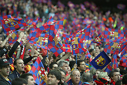 28.05.2011, Wembley Stadium, London, ENG, UEFA CHAMPIONSLEAGUE FINALE 2011, FC Barcelona (ESP) vs Manchester United (ENG), im Bild Barcelona supporters   during  the UEFA  Champions League Final between Barcelona and Manchester United at the Wembley Stadium  in London    on 28/05/2011, EXPA Pictures © 2011, PhotoCredit: EXPA/ IPS/ M. Pozzetti *** ATTENTION *** UK AND FRANCE OUT!