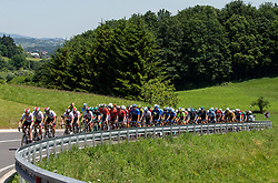 Peloton during 2nd Stage of 26th Tour of Slovenia 2019 cycling race between Maribor and Celje (146,3 km), on June 20, 2019 in  Slovenia. Photo by Vid Ponikvar / Sportida
