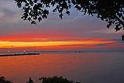 Sunset at Lakeside, Ohio