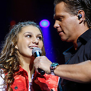 NLD/Amsterdam/20121117 - Danny de Munk 30 jaar in het vak, dochter Bo de Munk danst voor haar vader
