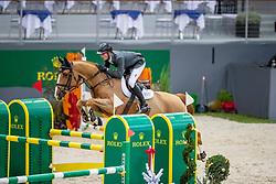 SMITH Spencer (USA), Diablo <br /> Genf - CHI Rolex Grand Slam 2018<br /> Preis der Kommune Geneve<br /> 2-Phasen Springen<br /> 06. Dezember 2018<br /> © www.sportfotos-lafrentz.de/Stefan Lafrentz