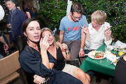 GILLIAN MCVEY, Private view and Summer party to celebrate Haunch of Venison's exhibition. Joanna Vasconcelos; I will Survive and Polly Morgan: Psychopomps. Dover st. arts Club. 20 July 2010. -DO NOT ARCHIVE-© Copyright Photograph by Dafydd Jones. 248 Clapham Rd. London SW9 0PZ. Tel 0207 820 0771. www.dafjones.com.