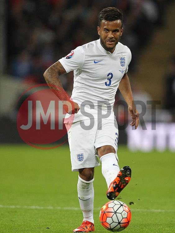 Ryan Bertrand of England - Mandatory byline: Paul Terry/JMP - 07966 386802 - 09/10/2015 - FOOTBALL - Wembley Stadium - London, England - England v Estonia - European Championship Qualifying - Group E
