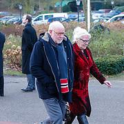 NLD/Drievliet/20130104 - Uitvaart Arend Langeberg, Ferry Maat en partner Lenny van der Wal