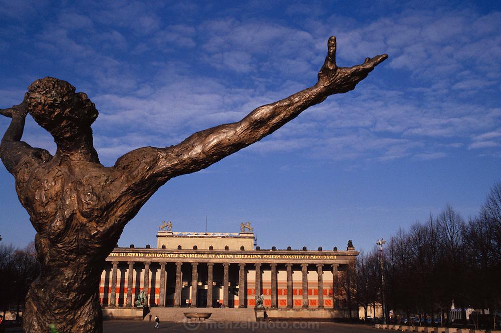 Berlin Art Museum. Berlin, Germany. Former East Berlin.