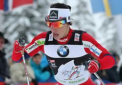 03.01.2012, Nordische Arena, Toblach, ITA, Viessmann Tour de Ski 2011, FIS Langlauf Weltcup, Damen 3,3km Klassik einzel, im Bild MARIT BJOERGEN // during Ladies 3.3 km Classic Individual of Viessmann Tour de Ski 2011 FIS World Cup Cross Country at DNordische Arena, Toblach, Italy on 2012/01/03. EXPA Pictures © 2012, PhotoCredit: EXPA/ Newspix/ Tomasz Markowski..***** ATTENTION - for AUT, SLO, CRO, SRB, SUI and SWE only *****