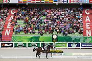 Tinne Vilhelmson Silfven - Don Auriello<br /> Alltech FEI World Equestrian Games™ 2014 - Normandy, France.<br /> © DigiShots