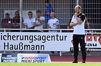Fussball Regionalliga Suedwest 2019/2020    14.09.2019 TSG Balingen - SC Freiburg II Enttaeuschung Balingen; Trainer Ralf Volkwein