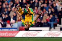Photo: Alan Crowhurst.<br />Southampton v Norwich City. Coca Cola Championship. 16/12/2006. Robert Earnshaw celebrates his goal for Norwich 0-1.