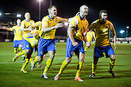 Warrington Town FC v Exeter City 071114