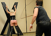 The Long Whip Workshop at the South East Leather Fest. <br />