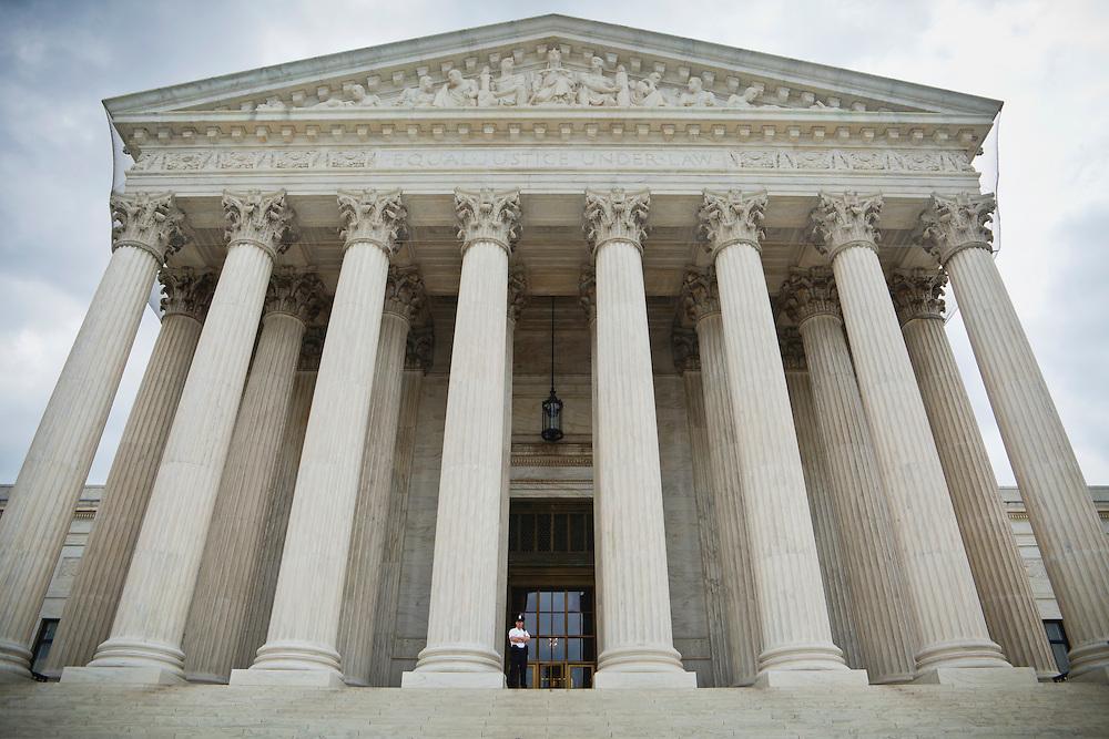 The United States Supreme Court Building at 1 First Street, NE, Washington D.C., USA