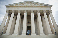 The United States Supreme Court Building at 1 First Street, NE, Washington D.C., USA