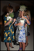 MELISSA KNATCHBULL; BEATRICE VINCENCINI-WARREN, Cartier dinner in celebration of the Chelsea Flower Show. The Palm Court at the Hurlingham Club, London. 19 May 2014.