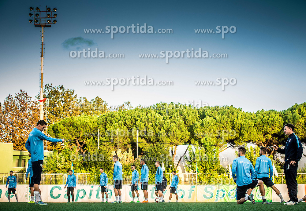 Milivoje Novakovic of Slovenia during the practice session of Team Slovenia 1 day before EURO 2016 Qualifier Group E match between Slovenia and San Marino, on October 11, 2015 in Riccione, Italy. Photo by Vid Ponikvar / Sportida
