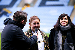 Wasps Half time activations Dalla8io Rugby Works - Mandatory by-line: Robbie Stephenson/JMP - 05/01/2020 - RUGBY - Ricoh Arena - Coventry, England - Wasps v Northampton Saints - Gallagher Premiership Rugby