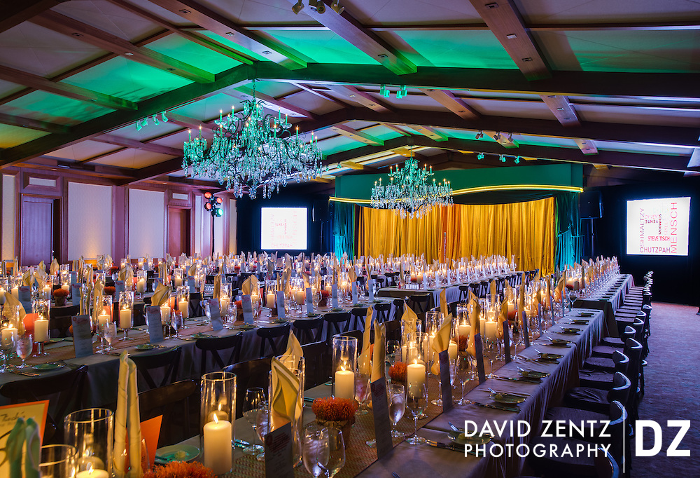 Private party at the Hillcrest Country Club in Los Angeles.
