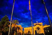 19 JULY 2012 - PHOENIX, AZ:  The Arizona State Capitol at sunrise.   PHOTO BY JACK KURTZ