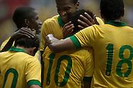 Brasilia, Brasil, September 07 of 2013:  Brasil X Australia game at Mane Garrincha stadium, in Brasila - Brazil. (photo: Caio Guatelli)