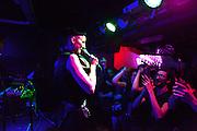 Adult performing at Siroco Club, Madrid.