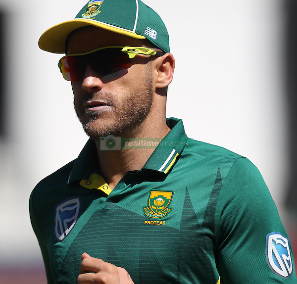 Faf du Plessis of South Africa during the 3rd ODI match between South Africa and Australia held at Kingsmead Stadium in Durban, Kwazulu Natal, South Africa on the 5th October  2016<br /> <br /> Photo by: Steve Haag/ RealTime Images