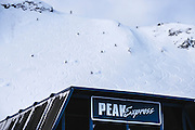 Peak Chair madness. Whistler BC.