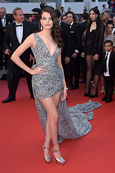 "71st Cannes Film Festival 2018, Red Carpet film ""Blackkklansman"". Pictured: Sonia Ben Ammar"