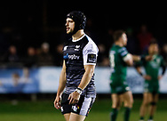 Dan Evans of Ospreys<br /> <br /> Photographer Simon King/Replay Images<br /> <br /> Guinness PRO14 Round 7 - Ospreys v Connacht - Friday 26th October 2018 - The Brewery Field - Bridgend<br /> <br /> World Copyright &copy; Replay Images . All rights reserved. info@replayimages.co.uk - http://replayimages.co.uk