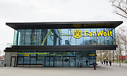Borussia Dortmund and Germany Ticket Office outside the Signal Iduna Park Stadium before the International Friendly match between Germany and England at Signal Iduna Park, Dortmund, Germany on 22 March 2017. Photo by Phil Duncan.