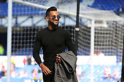 Everton striker Theo Walcott (11)  before the Premier League match between Everton and Southampton at Goodison Park, Liverpool, England on 5 May 2018. Picture by Craig Galloway.
