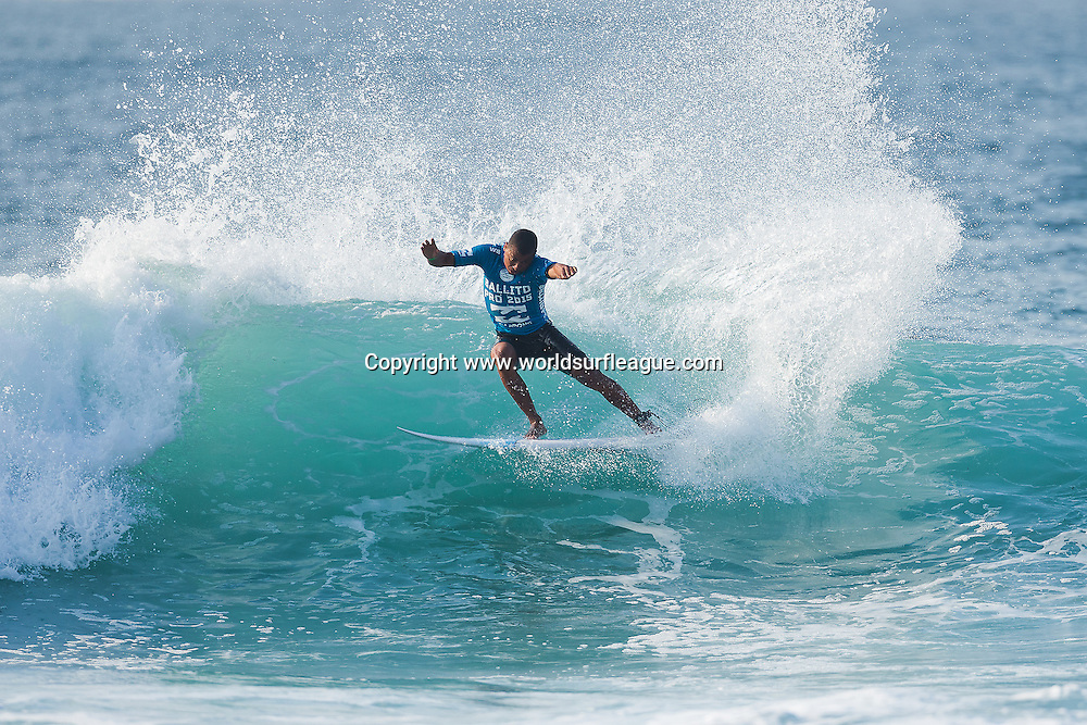 David do Carmo (pictured) advanced into Round 3 of the Ballito Pro Presented by Billabong after placing second in his Round 2 heat at Bathers Beach, Ballito, South Africa today.<br /> <br /> IMAGE CREDIT: WSL / Ballito Pro / Cestari<br /> PHOTOGRAPHER: Kelly Cestari<br /> SOCIAL MEDIA TAG: @wsl @theballitopro @kc80<br /> <br /> The Ballito Pro Presented by Billabong is an international surf and lifestyle event hosted in Ballito, the jewel of KwaZulu-Natal's North Coast.  This event is a strategic partnership between World Surf League (WSL) and the KwaDukuza Municipality, together with various public and private sector partners<br /> <br /> In 2015 Billabong took the baton from Mr Price, agreeing to carry on the proud legacy of the world's longest running progressional surfing event as it enters its 47th year.<br /> <br /> The festival runs from June 28 to July 5 and with over 10 000 visitors enjoying festivities last year 2015 promises to be bigger and better than ever and anticipates record numbers.<br /> <br /> View the event live at www.theballitopro.com.