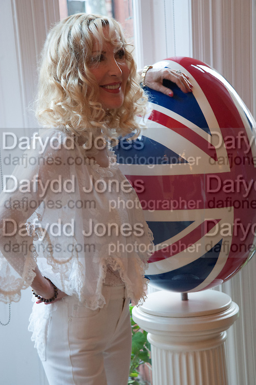 BASIA BRIGGS, Party given by Basia Briggs and Richard Briggs at their home in Chelsea. London. 14 May 2012