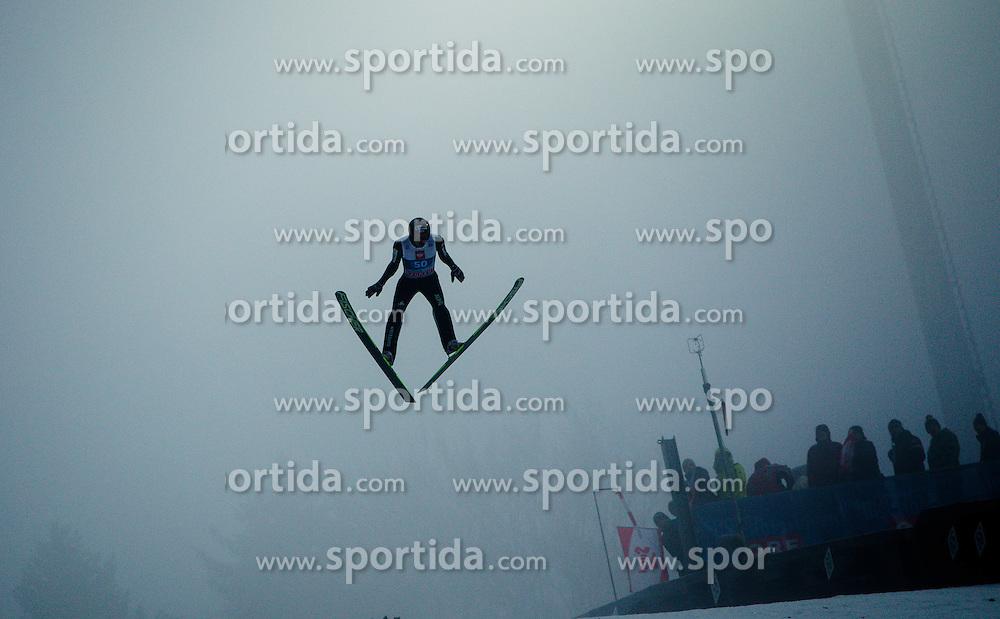 06.01.2013, Paul Ausserleitner Schanze, Bischofshofen, AUT, FIS Ski Sprung Weltcup, 61. Vierschanzentournee, Training, im Bild Gregor Deschwanden (SUI) // Gregor Deschwanden of Switzerland during practice Jump of 61th Four Hills Tournament of FIS Ski Jumping World Cup at the Paul Ausserleitner Schanze, Bischofshofen, Austria on 2013/01/06. EXPA Pictures © 2012, PhotoCredit: EXPA/ Juergen Feichter