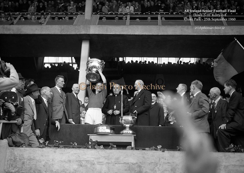 Football - All Ireland Senior Football Final - Kerry vs Down<br /> 25/09/1960