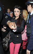 03.NOVEMBER.2010. LONDON<br /> <br /> X FACTOR FINALIST CHER LLOYD LEAVES THE GYM IN COVENT GARDEN WITH A BODYGUARD AND A POLICE ESCORT.<br /> <br /> BYLINE: EDBIMAGEARCHIVE.COM<br /> <br /> *THIS IMAGE IS STRICTLY FOR UK NEWSPAPERS AND MAGAZINES ONLY*<br /> *FOR WORLD WIDE SALES AND WEB USE PLEASE CONTACT EDBIMAGEARCHIVE - 0208 954 5968*