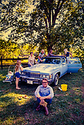 "Billy Carter and family wash the Carter's new blue Cadillac. William Alton - Billy - Carter (March 29, 1937 – September 25, 1988) was an American farmer, businessman, brewer, and politician, and the younger brother of U.S. President Jimmy Carter. Carter promoted Billy Beer and was a candidate for mayor of Plains, Georgia. Carter was born in Plains, Georgia, to James Earl Carter Sr. and Lillian Gordy Carter. He was named after his paternal grandfather and great-grandfather, William Carter Sr. and William Archibald Carter Jr. respectively. He attended Emory University in Atlanta but did not complete a degree. He served four years in the United States Marine Corps, then returned to Plains to work with his brother in the family business of growing peanuts. In 1955, at the age of 18, he married Sybil Spires (b. 1939), also of Plains. They were the parents of six children: Kim, Jana, William ""Buddy"" Carter IV, Marle, Mandy, and Earl, who was 12 years old when his father died."
