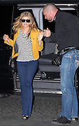 15.MAY.2011. PARIS<br /> <br /> FERGIE FROM THE BLACK EYED PEAS ARRIVING AT HER HOTEL IN PARIS WEARING A BRIGHT ORANGE LEATHER JACKET.<br /> <br /> BYLINE: EDBIMAGEARCHIVE.COM<br /> <br /> *THIS IMAGE IS STRICTLY FOR UK NEWSPAPERS AND MAGAZINES ONLY*<br /> *FOR WORLD WIDE SALES AND WEB USE PLEASE CONTACT EDBIMAGEARCHIVE - 0208 954 5968*
