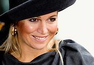 16-10-2013 WAGENINGEN – Queen Maxima Attents the opening of the Campina Innovation centre in Wageningen . COPYRIGHT ROBIN UTRECHT