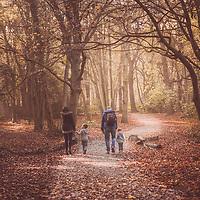 Wright Autumn Family Photoshoot