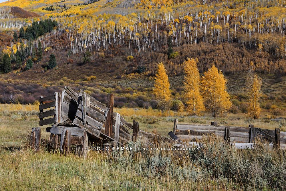 Rocky Mountains in Autumn, the Colorado Rockies, USA