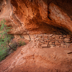 A Sinagua Ruin in Sedona Arizona