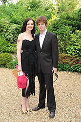 SOPHIE ELLIS-BEXTOR and RICHARD JONES at the Raisa Gorbachev Foundation Party held at Stud House, Hampton Court Palace on 5th June 2010.  The night is in aid of the Raisa Gorbachev Foundation, an international fund fighting child cancer.