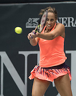 Madison Keys (USA) on Day Three of the WTA Generali Ladies Linz Open at TipsArena, Linz<br /> Picture by EXPA Pictures/Focus Images Ltd 07814482222<br /> 12/10/2016<br /> *** UK & IRELAND ONLY ***<br /> <br /> EXPA-REI-161012-5000.jpg