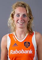ARNHEM - WILLEMIJN BOS. Nederlands hockeyteam dames 2012. FOTO KOEN SUYK/KNHB